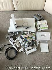 Wii And Accessories (A)