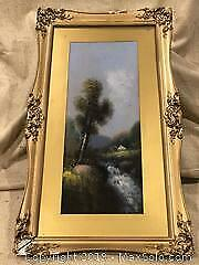 Antique Landscape Painting A