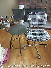 Office Chair And Bar Stool B