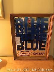 Labatts Beer Mirror