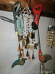 Grass Trimmers, Chimes and More B