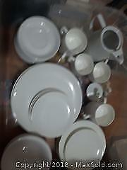 Tuscan bone china. 6 pc soup bowls. dinner, salad, dessert, coffee plates, mugs, teapot