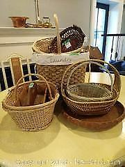 Wicker Baskets A