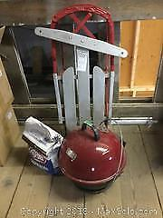Sled, Barbecue, Charcoal A