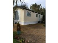 Chalet/holiday home, 2 bedroom, 28ft, FCH, part furnished, good condition, no pets, Mansfield area.