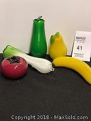 Vintage Murano art-glass style fruit/vegetables B