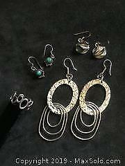Collection of Sterling Silver Jewellery