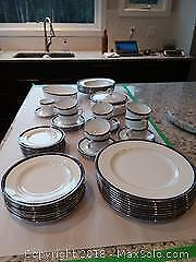 China Dishware Set and Serving Dishes A