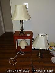 Lamps And End Table B