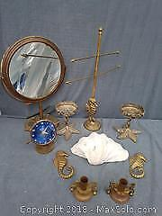 Brass Nautical Themed Pieces
