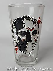 Friday The 13th Movie Glass