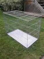 Large Collapsible solid Dog Kennel