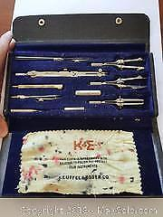 Antique KE Precision Math Set Kit