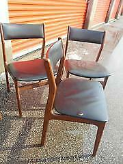 Mid Century Teak Chairs - Set of 3, Category B