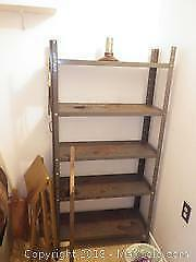 Shelves and Wine Barrel C