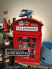 Telephone Booth Cabinet B