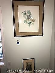 Signed Etching And Print A