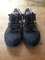 ONITSUKA TIGER Men's Mexico 66 - Black/Yellow - US11 - HALF PRICE Darlinghurst Inner Sydney Preview