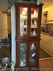 China Hutch and Cabinet. C