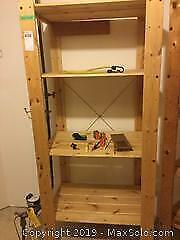 Ikea Wood Shelving Units and More C