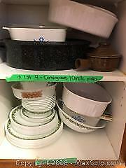 Corningware and Corelle Dishes