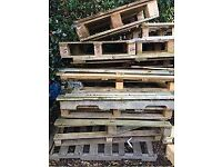 Pallet wood. Free to collector