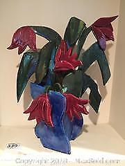 Pottery Tulips A