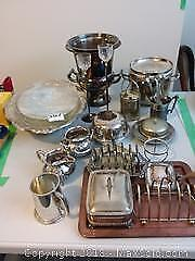 Silverplated Serving Dishes and More B