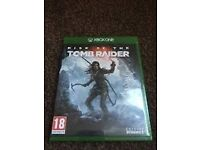 RISE OF THE TOMB RAIDER- XBOX ONE BRAND NEW & SEALED *MINT*