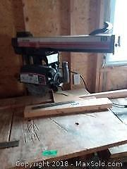 Craftsman Radial Saw and More C