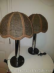 Two Vintage Lamps