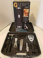Bar Tools and Automatic Wine Bottle Opener