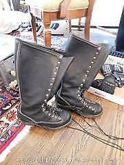 Wesco Leather Linemans Womens Size 7.5 Boots B