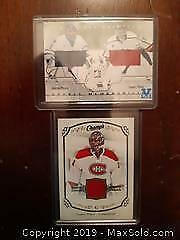 Two Carey Price Hockey Jersey Cards