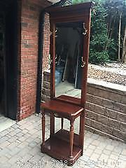 Hall Table With Mirror