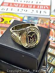 Montreal Maroons Stanley Cup Ring Labatts Promo