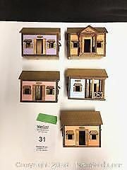 Miniature chattel houses A