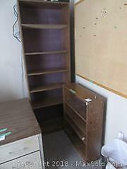 Bookcases And Bulletin Board C