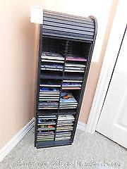 Roll Top CD Holder, CDs. D