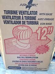 "12"" Airhawk Turbine Ventilator ""Whirlybird"" North Shore Greater Vancouver Area image 2"