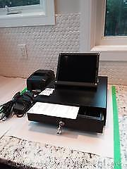 Cash Drawer, Printer, IPad and Stand A