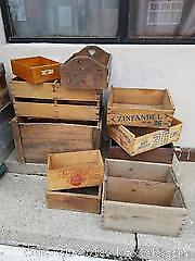 Ten Wooden Crates