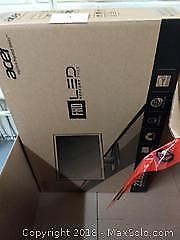 23.6 Acer monitor with accessories