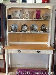 Country Kitchen Step Back Cabinet