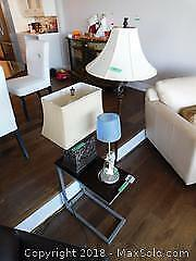 3 Lamps And Side table B