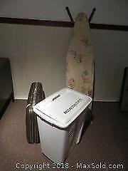 Hamper And Ironing Board A