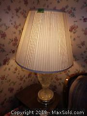 2 Crystal Table Lamps A
