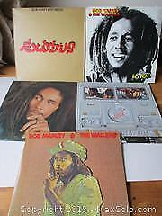 Bob Marley And The Wailer's Record Collection.