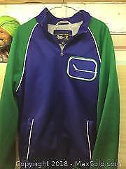 Vancouver Canucks Warm Up Jacket A