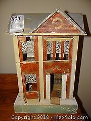 Wooden Victorian Style Doll House A